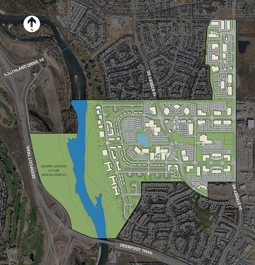 Overview Map of Quarry Park